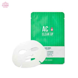 ETUDE HOUSE AC Clean Up Sheet Mask 27g, ETUDE HOUSE