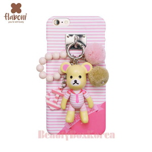 FLABONI 2Kinds Popobe Marin Bear Skinny Phone Case