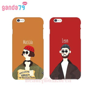 GANDA79 7Kinds Leon & Matilda 3D Curve Hard Phone Case