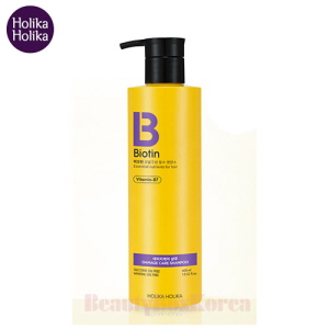 HOLIKA HOLIKA Biotin Damage Care Shampoo 400ml,HOLIKAHOLIKA,Beauty Box Korea