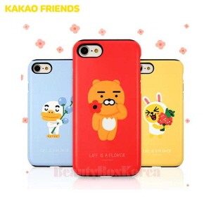 KAKAO FRIENDS Flower Double Bumper Phone Case
