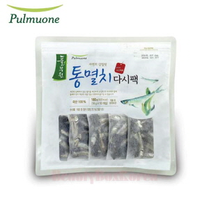 PULMUONE Natural Umami Anchovy Dried Sauce Pack 18g*10ea,Beauty Box Korea