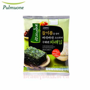 PULMUONE Seaweed Original Green Laver 35g,Beauty Box Korea