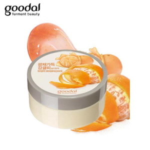 GOODAL Nature's Solution Brightening Sleeping Pack Tangerine 100ml, GOODAL