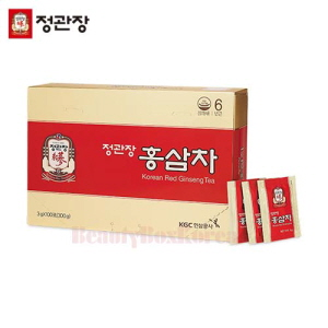 CHEONGKWANJANG Korean Red Ginseng Tea 3g * 100T,CHEONGKWANJANG,Beauty Box Korea