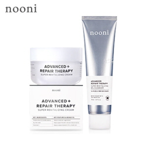 MEMEBOX NOONI Advanced Repair Therapy Set(Therapy Cream 50ml+Gel Cleanser 150ml), NOONI