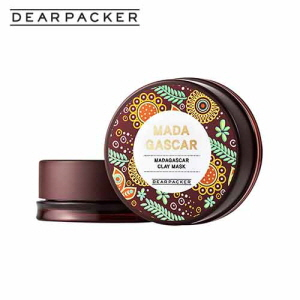 DEARPACKER Madagascar Clay Mask 50ml, DEAR PACKER