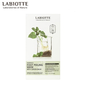 LABIOTTE Marry Eco Foot Peeling Mask With Lemon Balm 20ml x 2ea,LABIOTTE,Beauty Box Korea