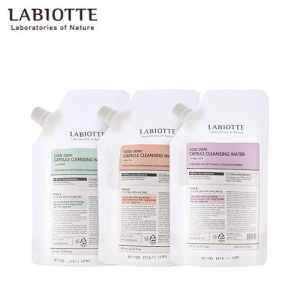 LABIOTTE Code-Derm Capsule Cleansing Water Refill 200ml,Beauty Box Korea