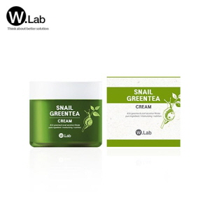 W.LAB Snail Green Tea Cream 75g, W.LAB