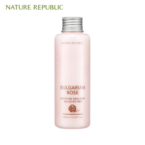 NATURE REPUBLIC Bulgarian Rose Moisture Emulsion 155ml (Online exclusive), NATURE REPUBLIC