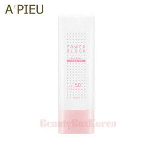 A'PIEU Power Block Tone Up Sun Base (Pink) SPF50+PA++++ 50ml
