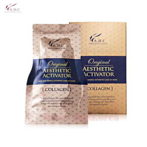 A.H.C Original Aesthetic Modeling 25g*5ea + Aesthetic Collagen Activator 52.5g*5ea