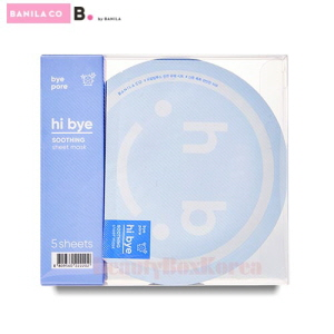 BANILA CO. Hi Bye Soothing Sheet Mask 25ml*5ea [WS]