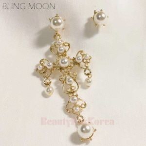 BLING MOON Unbal Versace Earring 1pair