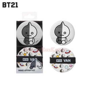 BT21 Make-Up Puff Kit 2ea