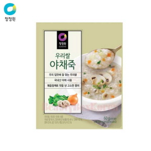CHUNGJUNGONE Vegetable Korean Rice Porridge 60g*10ea