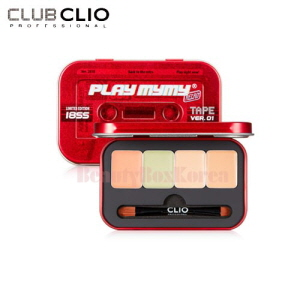 CLIO  Play Mymy Kill Cover Conceal Palette 1.5g*4 [Play Mymy Collection]