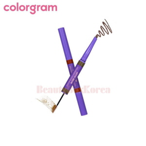 COLORGRAM Artist Brow Coloring Pencil & Cara 0.15g+1.5g