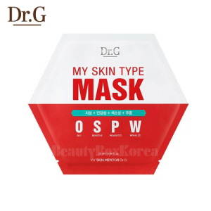 DR.G My Skin Type Mask 25ml (OSPW)