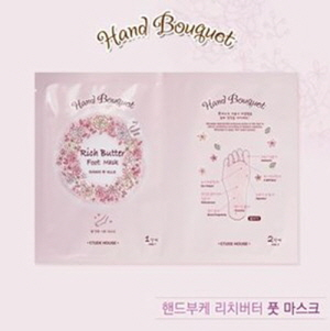 ETUDE HOUSE Hand Bouguet Rich Butter Foot mask, ETUDE HOUSE