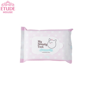 ETUDE HOUSE My Beauty Tool Clean Wet Wipes 15p, ETUDE HOUSE