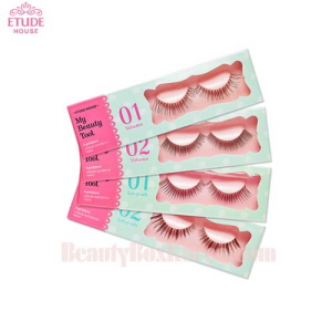 ETUDE HOUSE My Beauty Tool Eyelashes Step1 & Step2