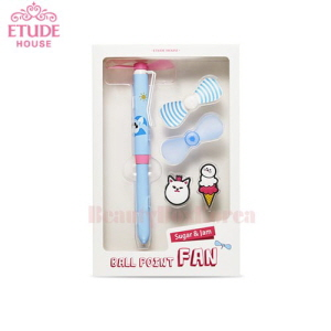 ETUDE HOUSE Sugar& Jam Ball Point Fan 1ea
