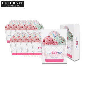 FEFERAFE Ice Cream Pack For Face 25ml*10ea