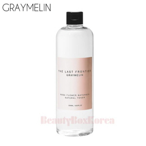 GRAYMELIN Rose Flower Water 85% Natural Toner 500ml