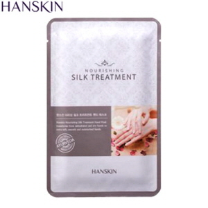 HANSKIN Nourishing Silk Treatment Hand mask 12g, HANSKIN
