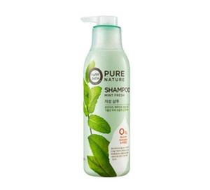 HAPPY BATH Mint Fresh Shampoo 420ml, HAPPY BATH