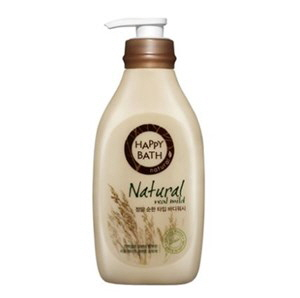 HAPPY BATH Natural Real Mild Body Wash 500g, HAPPY BATH