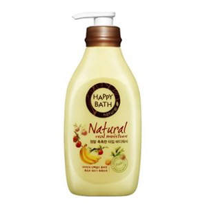 HAPPY BATH Natural Real Moisture Body Wash 500g, HAPPY BATH