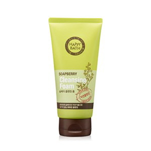 HAPPY BATH Soapberry Deep Cleansing Foam 175g, HAPPY BATH