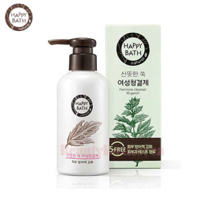 HAPPY BATH Feminine Cleanser #Mugwort 200ml