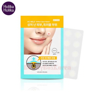 HOLIKA HOLIKA AC Mild Yellow Spot Patch 15ea,HOLIKAHOLIKA