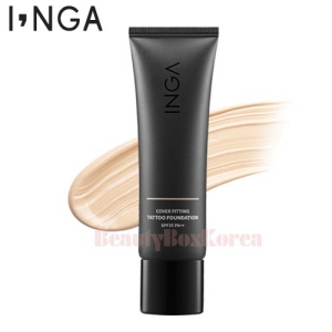 INGA Cover Fitting Tattoo Foundation SPF35 PA++ 30ml,INGA