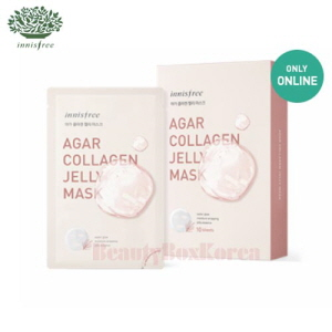 INNISFREE Agar Collagen Jelly Mask Set 33ml*10ea [Online Excl.]