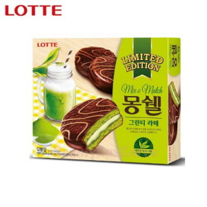 LOTTE Mongshell Green Tea Latte 30g*12ea