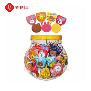 LOTTE Rollipop Line Friends 660g(60ea)