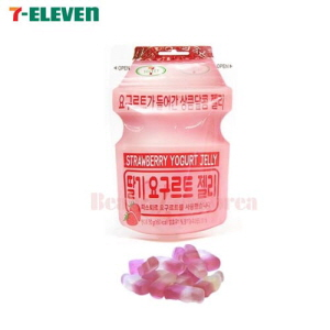 SEVEN ELEVEN Strawberry Yogurt Jelly 50g*5ea