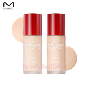 MACQUEEN NEW YORK Air Fit Cover Foundation 35ml,MACQUEEN New York