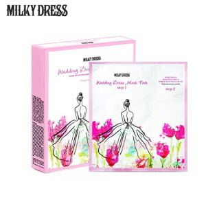 MILKY DRESS Wedding Dress Mask Pack 20ml+1ml*10ea