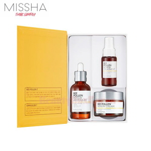 MISSHA Bee Pollen Renew Special Set 3items