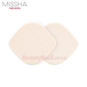 MISSHA NBR Flocking Dual Puff 2p