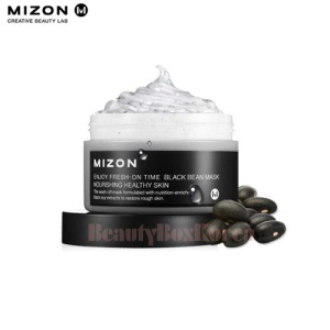 MIZON Enjoy Fresh On Time Mask 100ml #Black Bean Mask