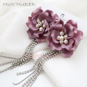 MUR'MURER Rose Berry Earrings 1pair