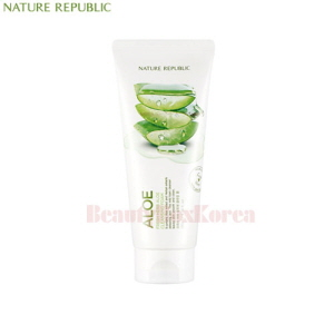NATURE REPUBLIC Fresh Herb Aloe Cleansing Foam 170ml