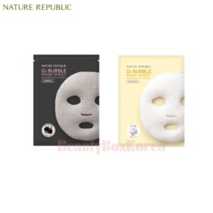 NATURE REPUBLIC O2 Bubble Mask Sheet 28g